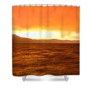 Sunset On Lake Tahoe, California Shower Curtain