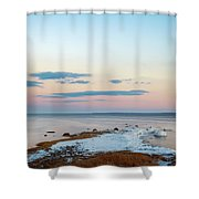 Sunset On Long Island Shower Curtain