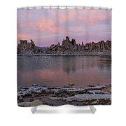Sunset On Mono Lake Shower Curtain