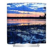 Sunset On Porcupine Lake Shower Curtain