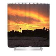 Sunset On Sanibel Shower Curtain