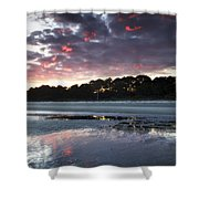 Sunset On South Forest Shower Curtain