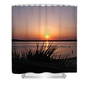 Sunset On The Atlantic  Shower Curtain