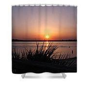 Sunset On The Atlantic  Shower Curtain