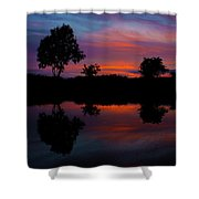 Sunset On The Bladnoch Shower Curtain