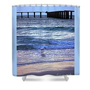 Sunset On The Gulf Shower Curtain