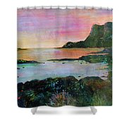Sunset On The Isle Of Skye Shower Curtain