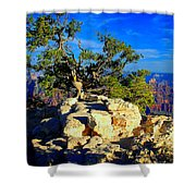 Sunset On The North Rim - Grand Canyon Shower Curtain