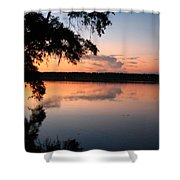 Sunset On The Ogeechee Shower Curtain
