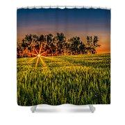 Sunset On The Prairie Shower Curtain