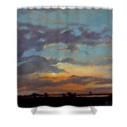 Sunset On The Prarie Shower Curtain