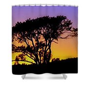 Sunset On The Rim Shower Curtain