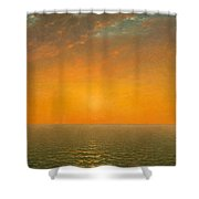Sunset On The Sea Shower Curtain