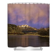 Sunset On The Snake River Shower Curtain
