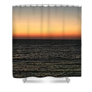 Sunset Over Ceaserea Shower Curtain