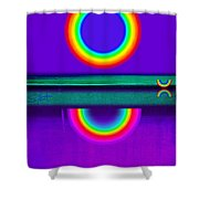 Sunset On Violet Shower Curtain