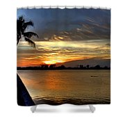 Sunset Or Sunrise Shower Curtain