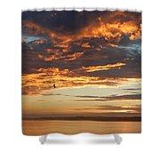 Sunset Oregon Shower Curtain