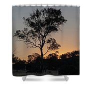 Sunset - Out In The Country Shower Curtain