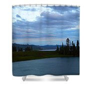 Sunset Out West Shower Curtain