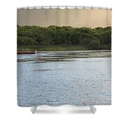 Sunset Over Killarney Shower Curtain