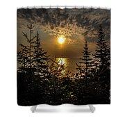 Sunrise Over Lake Huron Shower Curtain