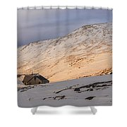 Sunset Over Lakes Of The Clouds Shower Curtain