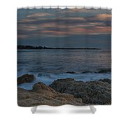 Sunset Over Point Joe Shower Curtain