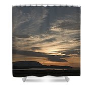 Sunset Over Sligo Bay Shower Curtain
