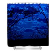 sunset over Suwanee 2009 Shower Curtain