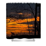 sunset over Suwanee 2010 Shower Curtain