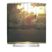 Sunset Over Venice Shower Curtain