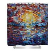 Sunset Pandora Shower Curtain