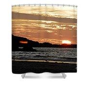 Sunset Part 3 Shower Curtain