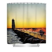Sunset Photography  Shower Curtain
