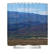 Sunset Point View Shower Curtain