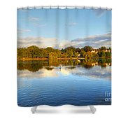 Sunset Reflections On The Lake Shower Curtain