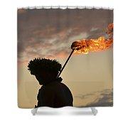Sunset Ritual Shower Curtain
