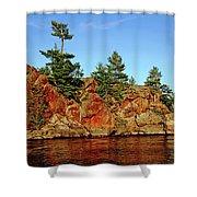 Sunset Rock Shower Curtain