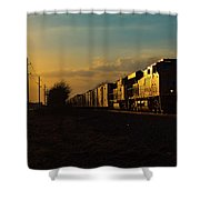 Sunset Route Sunset Shower Curtain