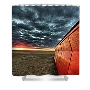 Sunset Saskatchewan Canada Shower Curtain