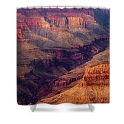 Sunset Scar Shower Curtain