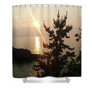 Sunset Scenic Shower Curtain