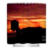 Sunset Se Shower Curtain