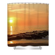 Sunset Shore Shower Curtain