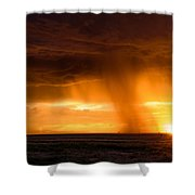 Sunset Shower Shower Curtain