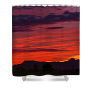Sunset Silhouette H1816 Shower Curtain