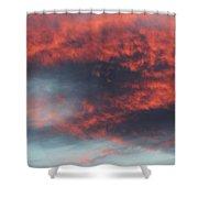 Sunset Skies 052814c Shower Curtain