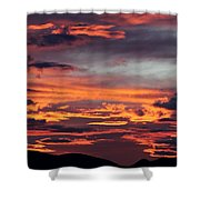 Sunset Skies 052814d Shower Curtain