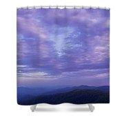 Sunset - Smoky Mountains  Shower Curtain
